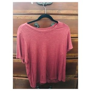 American Eagle Soft and Sexy red shirt